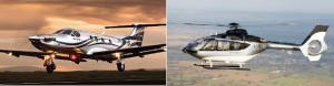 Aircraft dual pic