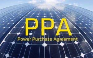 A Power Purchase Agreement is a great way for a company or non-profit organization to pay a controlled rate for power over a 20 or 25 year period.
